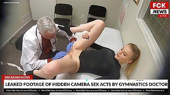 rei gets cum sprayed in her mouth by cute blonde nurse washes in bath