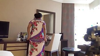 Indian Wife Playing With Her Husband