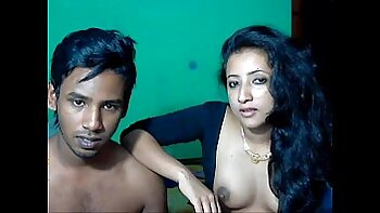 Amateur Indian couple fucking for webcam
