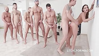 Orgy in full. Blowjobs lots of steamy things in anal holes