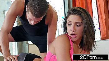 Stolen Video Abella Danger Makes Candy HardWorker