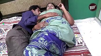 Playful Indian Girlfriend in Chair