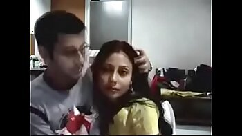 Couple Having Sex On Webcam in Home