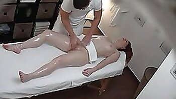 breasty sweet queen doing some erotic massage herself