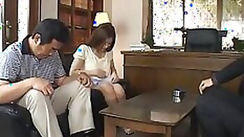 Attractive seductive Japanese fucks in various positions