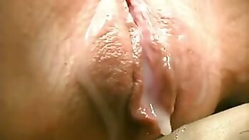 Exquisite sensitive pussy of my hot white wife getting wet again