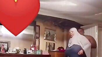 Fat wife in Hijab